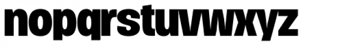 Duera Normal Bold Font LOWERCASE