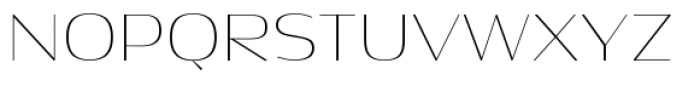 Dynasty A Pro Thin Font UPPERCASE