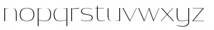Dynasty A Pro Thin Font LOWERCASE