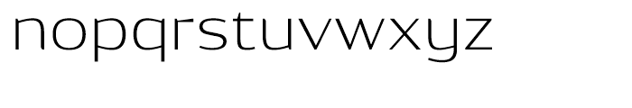 Dynasty Extra Light Font LOWERCASE