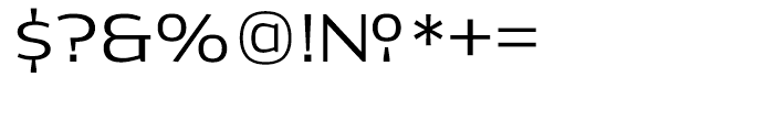 Dynasty Light Font OTHER CHARS