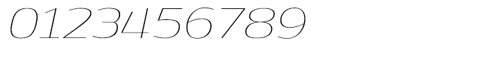 Dynasty Thin Italic Font OTHER CHARS