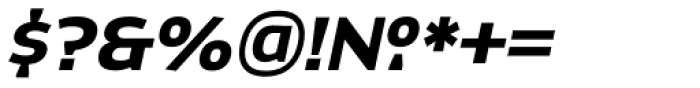 Dynasty Bold Italic Font OTHER CHARS