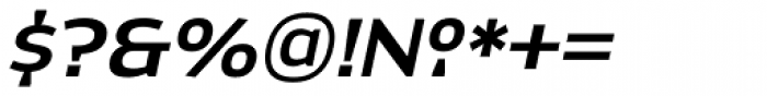 Dynasty DemiBold Italic Font OTHER CHARS