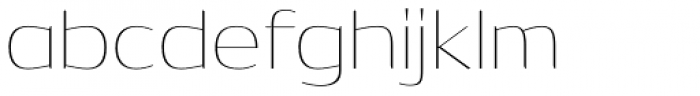 Dynasty Thin Font LOWERCASE