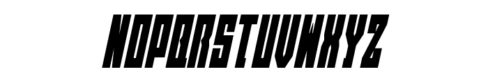 EAST-west Condensed Italic Font LOWERCASE