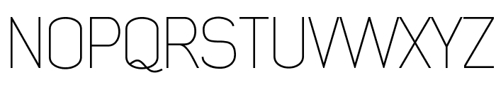 Early Times Thin Demo Font UPPERCASE