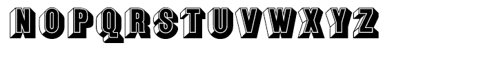 EF Buxom Regular Font LOWERCASE