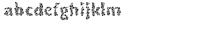EF DYSopia Regular Font LOWERCASE
