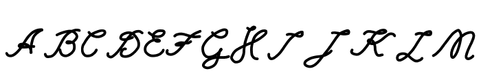 Einstein Grand Font UPPERCASE