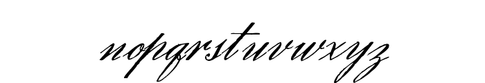Eliensee Font LOWERCASE