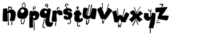 Electric Weasel Font LOWERCASE
