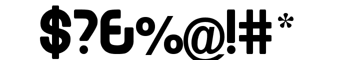 EMEN Lowercase Font OTHER CHARS