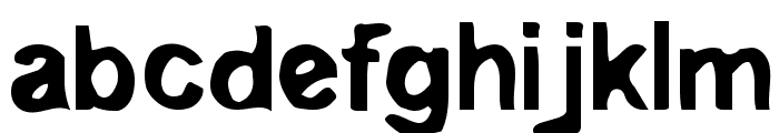 Embryonic Outside Font LOWERCASE