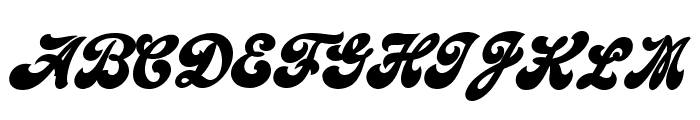 Emiral Script Bold PERSONAL USE Font UPPERCASE