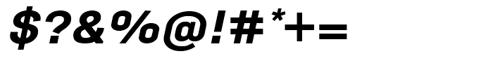 Empirical Five Italic Font OTHER CHARS