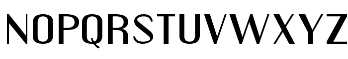 Engebrechtre Expanded Font LOWERCASE