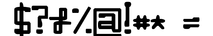 Enilorac gty Font OTHER CHARS