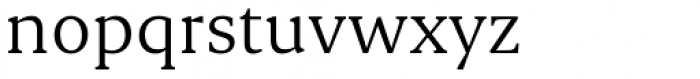 Ennore Font LOWERCASE