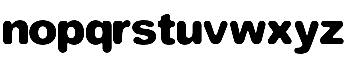 Equivalent Bold Font LOWERCASE