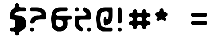 Eroded 2020 Font OTHER CHARS