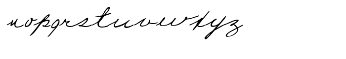 Estelle Handwriting Regular Font LOWERCASE