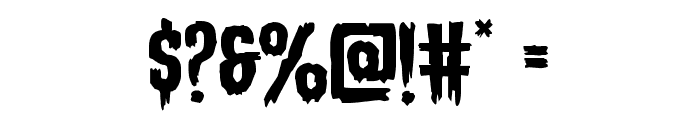 Eva Fangoria Expanded Font OTHER CHARS