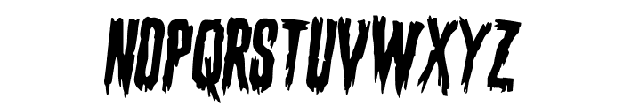 Eva Fangoria Rotated 2 Font LOWERCASE