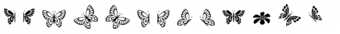 Evergreen Icons Font LOWERCASE