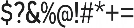 Expressway Condensed Regular otf (400) Font OTHER CHARS