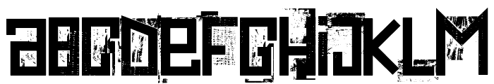 extravaganza- Font LOWERCASE