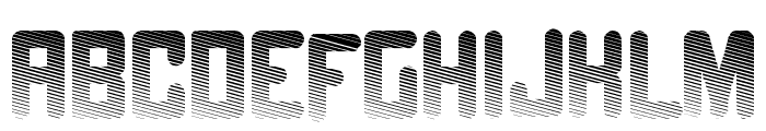 Fade to grey Font LOWERCASE