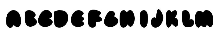 fat ass filled Font LOWERCASE