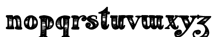 Fearing Madness Font LOWERCASE