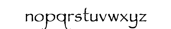 Feldicouth Norm Font LOWERCASE