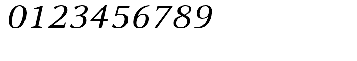 FF Celeste Small Text Regular Italic Font OTHER CHARS