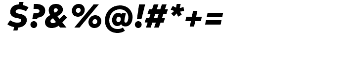 FF Mark Heavy Italic Font OTHER CHARS