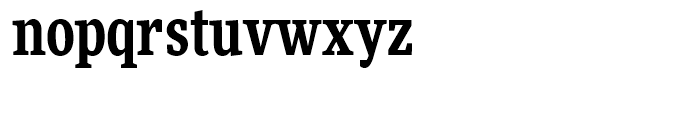 FF More Condensed Bold Font LOWERCASE