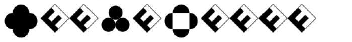 FF Dingbats 2 Mixed Form Font OTHER CHARS