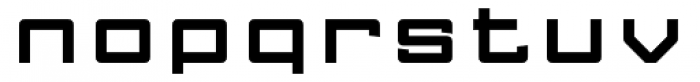 FF Gothic One Two Font LOWERCASE