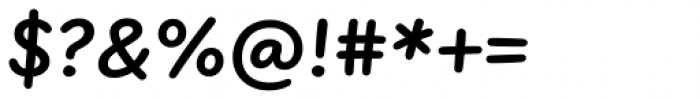 FF Uberhand Pro Bold Font OTHER CHARS