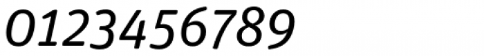 FF Unit Rounded Std Regular Italic Font OTHER CHARS
