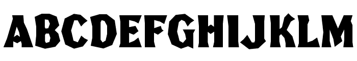 FHA Broken Gothic Kond NC Font LOWERCASE