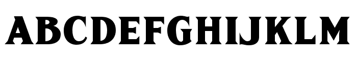 FHA Sign DeVinneNC Font UPPERCASE