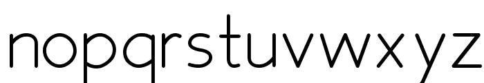 Fh_Space Font LOWERCASE