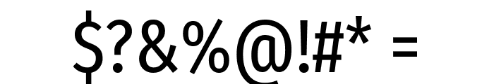 Fira Sans Extra Condensed Regular Font OTHER CHARS
