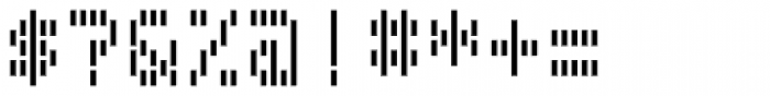 Filament Bold Font OTHER CHARS