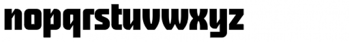 First Prize Bold Upright Font LOWERCASE
