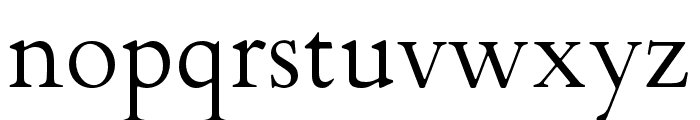 FlankerGriffo Font LOWERCASE