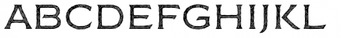 FM Bolyar Engraved One NPro 300 Font LOWERCASE